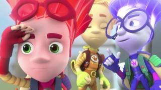 Фиксики - Огнетушитель  Образовательные мультики для детей