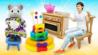 Видео для детей Капуки Кануки. Торт для друзей как в мультике про машинки