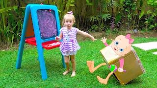 Странная коробка преследует Настю КУКЛА Беби Бон и Собачка Чичилав Видео для девочек и детей Куклы