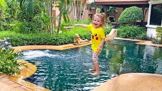 Рум тур 2 виллы на выбор Какая лучше? ВЛОГ Паттаия Тайланд видео для детей VLOG for kids