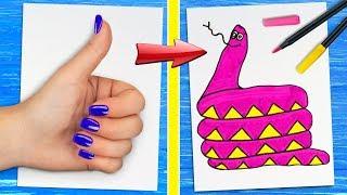 12 отборных лайфхаков для рисования