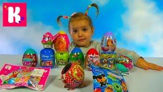 Игрушки сюрпризы в яйцах и пакетиках Барби Герои из Дисней    & blind bags