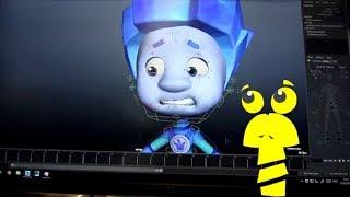 Секреты фиксиков (7). Риг. Управление 3D-моделями. Как создается мультфильм.