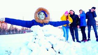 Нашли Замёрзшую девочку - Диана и Капа