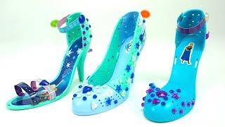 Игровой набор для детей - туфли героинь мультика Холодное сердце