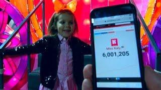 У канала Мисс Кейти 6 миллионов подписчиков