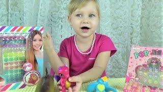 Украшаем волосы и пальчики Развлечения для детей  Детские наборы игрушки как у мамы