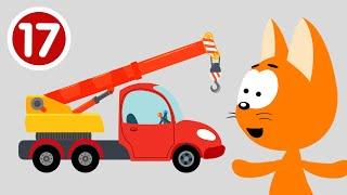 АВТОКРАН - Котёнок и волшебный гараж - Новая серия мультик про машинки