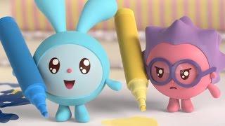 Малышарики 3 серия - Фломастеры