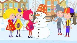 НОВЫЙ ГОД 2019 - КУКУТИКИ - Зима Дед Мороз и Снеговик
