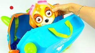 Чемодан с сюрпризами и игрушками для детей. ИгрушкинТВ