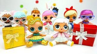 Сюрпризы и Куклы, подарки для куколок L.O.L. Сквиши игрушки питомцы.