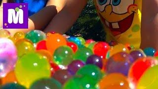 Сюрпризы игрушки с разноцветными шариками Орбиз