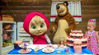 Маша и Медведь - парк развлечений