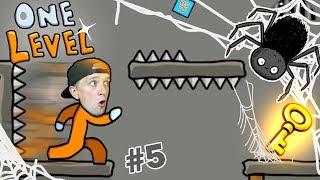КАК СБЕЖАТЬ ИЗ ТЮРЬМЫ в игре One LEVEL 2 #5 Милана и Папа Новый Побег