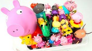 Свинка Пеппа коллекция игрушек канала Игрушкин ТВ