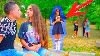 Девочка - ПРИЗРАК ПРЕСЛЕДУЕТ Диану