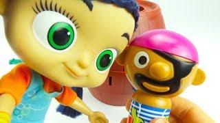 Забавная детская игрушка Прыгающий Пират Игрушкин ТВ