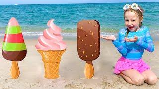 Настя и рассказы о мороженом. Nastya and the stories about Ice Cream