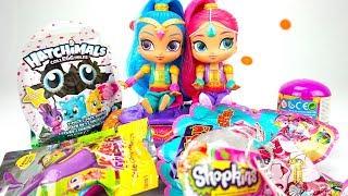 Шиммер и Шайн открывают сюрпризы для детей