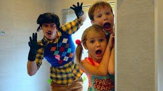 Привет сосед в реальной жизни напал на детей