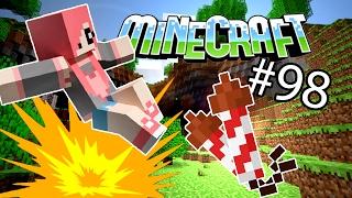 Minecraft - ВЗРЫВАЕМ 1000 ФЕЙЕРВЕРКОВ (Серия 98)
