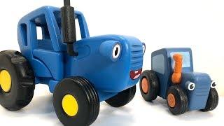Синий трактор и овощи - Полезная история как стать сильным