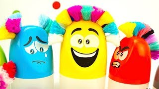 Распаковываем забавную игрушку для детского творчества!