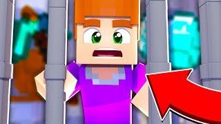 Minecraft - Выживание в тюрьме за решеткой в новый год