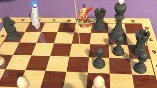 Фиксики - Шахматы  Познавательные мультики для детей, школьников