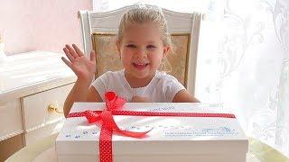 Подарок Бокс от Кидландия для Дианы!