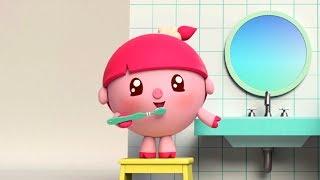 Малышарики - Щётка - серия 84  чистим зубы
