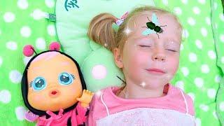 Лайк Настя и детская кукла. Забавные истории!