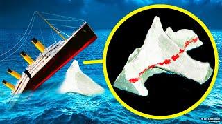 Что случилось с айсбергом после столкновения с Титаником