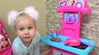 Детская кухня игрушка Май Литл Пони для детей!