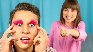 12 смешных пранков для влюбленной пары