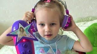 Любимая песня Алисы Детский МИКРОФОН и наушники для детей Какую песню любите вы