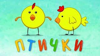ПТИЧКИ - Развивающая песенка детям о птицах.