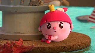 Малышарики  - Пароход  - серия 59 -  обучающие мультфильмы для малышей