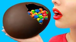 Большое шоколадное яйцо для пасхи – 8 лучших идей
