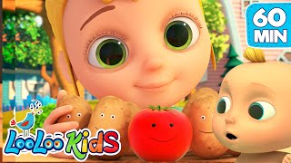 One Potato, Two Potatoes - LooLoo Kids Best EDUCATIONAL KIDS SONGS