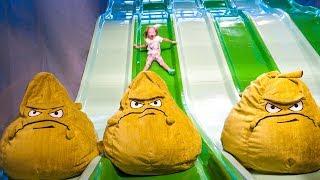 Детская игровая площадка и развлечения в Hub Zero в Дубай