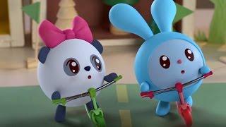 Малышарики  - Чемпионы - серия 58 -  обучающие мультфильмы для малышей