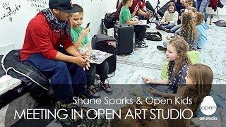 You Got Served star Shane Sparks meets Open Kids in   Kyiv, Ukraine