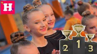 СНОВА ЗОЛОТО Первое место на Турнире по Художественной гимнастике КУБОК БЕРЕЗНЯКИ 2020