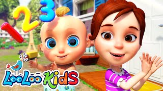 Clap your Hands Together - Action Songs for KIDS Learn and Have Fun LooLoo KIDS Nursery Rhymes