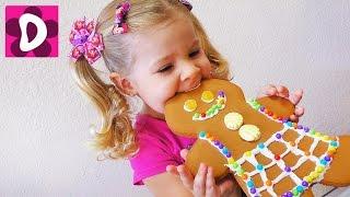 Делаем Огромные Печеньки-Человечки из мультика Шрек