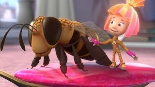 Фиксики - Пчела  Познавательные мультики про насекомых