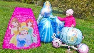 Карета и Золушка. Мультик для детей про принцесс