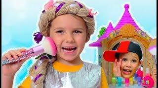 Make up для принцессы и ее лошадки